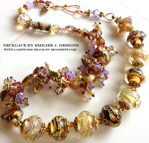 Emiliee Jessen Lampwork Jewelry with Paradise Lampwork