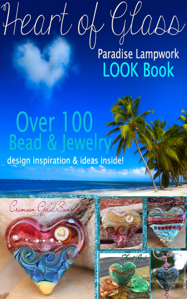 Heart of Glass Beads lampwork look Book ebook