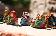 Ocean Heart Beads