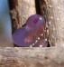 lampwor heart bead art glass Just Like Heaven