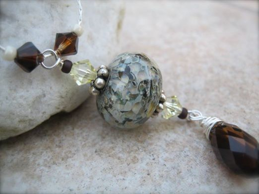 Emiliee Jessen Jewelry with Paradise Lampwork