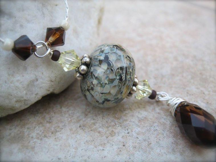 Emiliee Jessen Jewelry with Paradise Lampwork