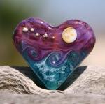PurpleRain Heart Focal