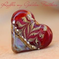 RufflemyGoldenFeathers Heart
