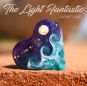 The Light fantastic Heart Bead Focal Handamade Lampwork Bead