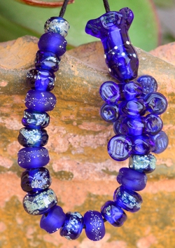 UpCycled Corralejo Tequila Lampwork