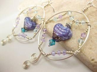 Jewelry-Desinger-Earrings-heart