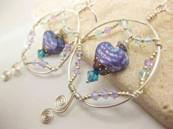 Jewelry-Desinger-Earrings-heart