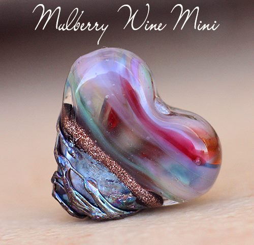 MulberryWineMiniHeart