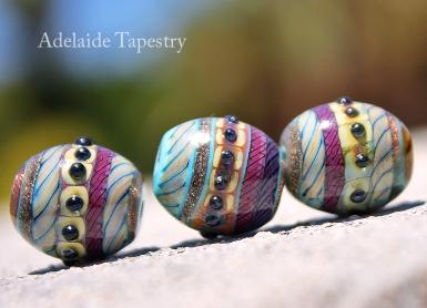Handshaped Barrel Beads