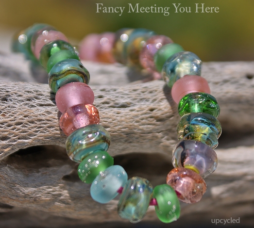 Upcycled Lampwork Beads