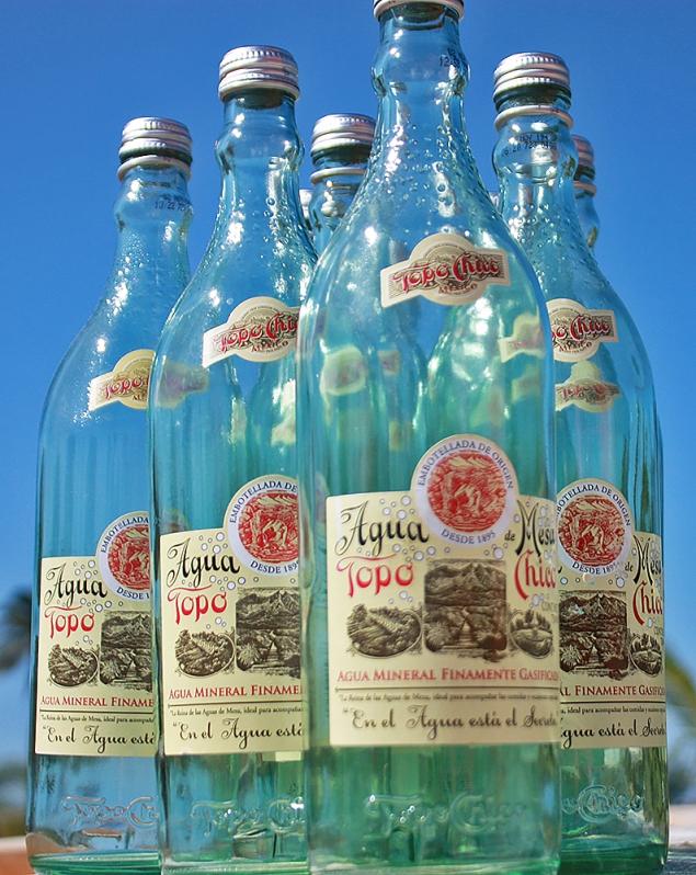 Topo Chico Bottle Glass