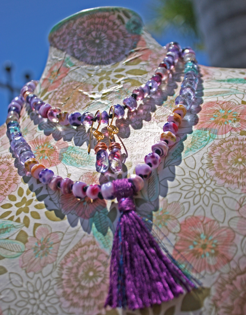 necklace-EarringsSetPurple2