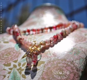 Necklace-Sakura