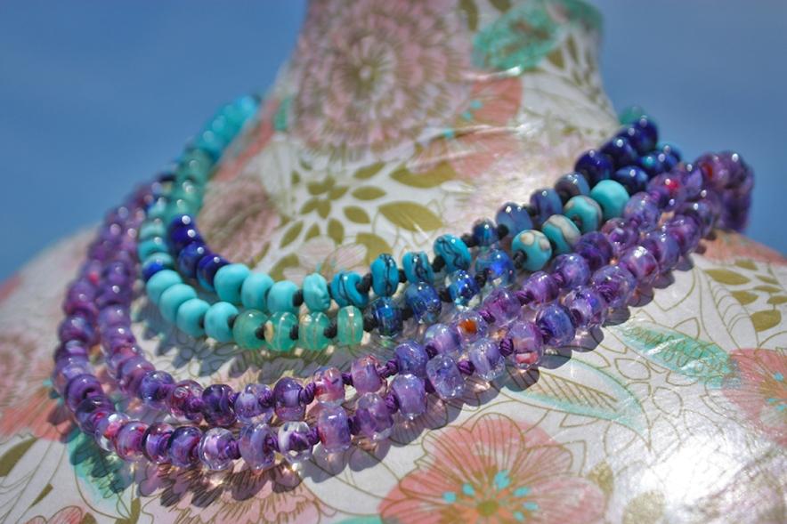 Lampwork Necklaces - Jenelle Aubade
